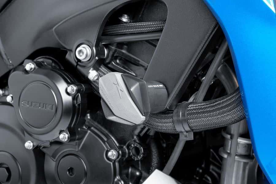 Auto e moto: ricambi e accessori PUIG Protectores motor topes anticaidas R12  NEGRO DUCATI STREETFIGHTER 848 Altro carrozzeria e telaio 201