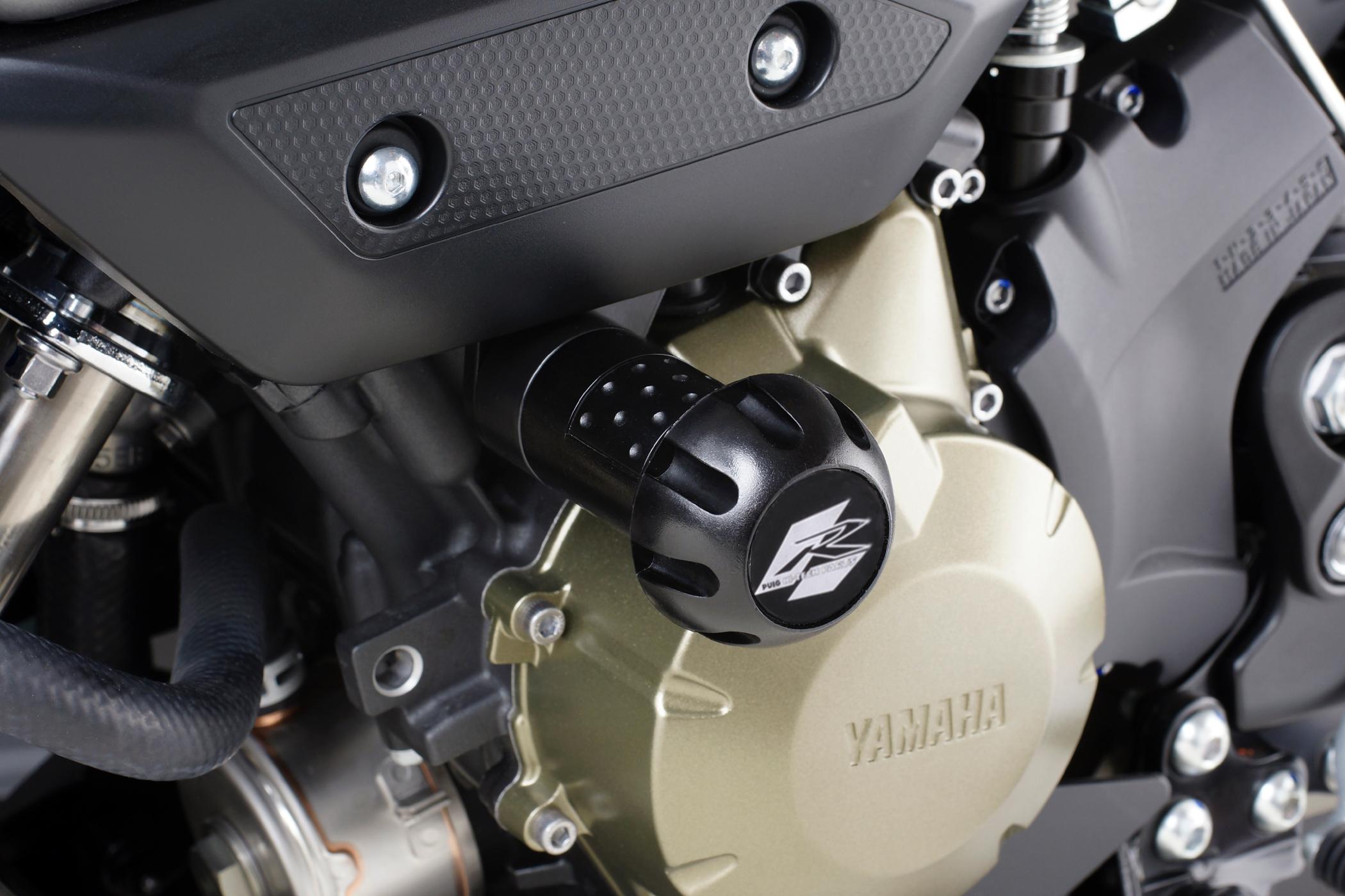 Color Negro Puig 4186N Protector Motor