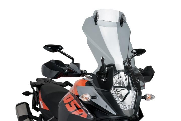 5853-PUIG-Visera-deflector-aire-Multiregulable-KYMCO-XCITING-500-2005-2013 miniatura 9