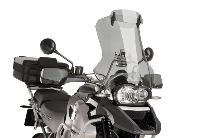 6007-PUIG-Visera-deflector-aire-Multiregulable-cup-KAWASAKI-KLE-500-1996-2007 miniature 6