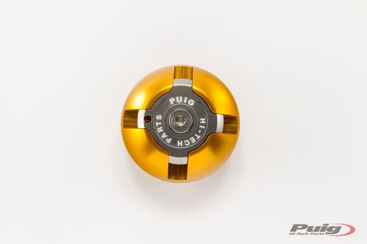 6158-PUIG-Tapon-aceite-carter-HI-TECH-aluminio-KAWASAKI-Z-1000-2003-2016 miniatura 5