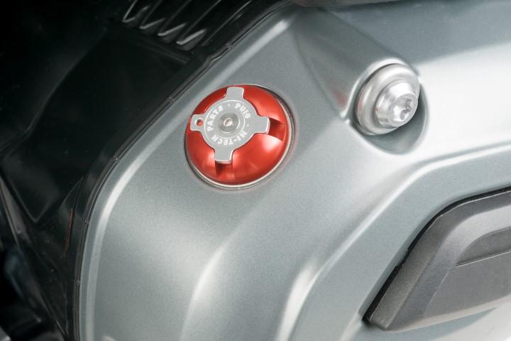 6779-PUIG-Tapon-aceite-carter-HI-TECH-aluminio-BMW-R-1200-GS-2004-2017 miniatura 3