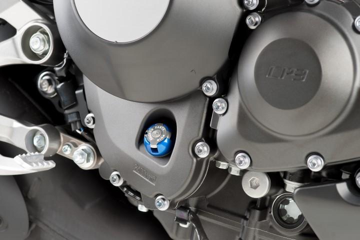 6781-PUIG-Tapon-aceite-carter-HI-TECH-aluminio-YAMAHA-MT09-2013-2017 miniature 3
