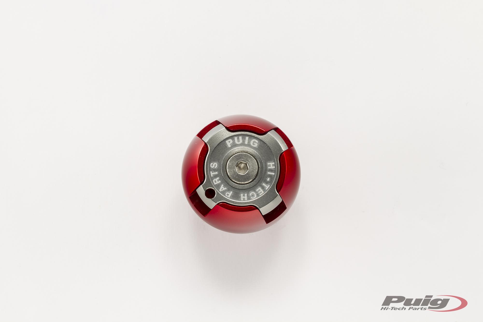 6781-PUIG-Tapon-aceite-carter-HI-TECH-aluminio-YAMAHA-MT09-2013-2017 miniature 8