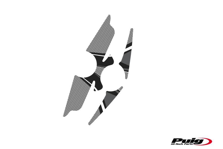 6983 PUIG Protector tija adhesivo anti rayas BMW K 1200 R SPORT 2007-2008