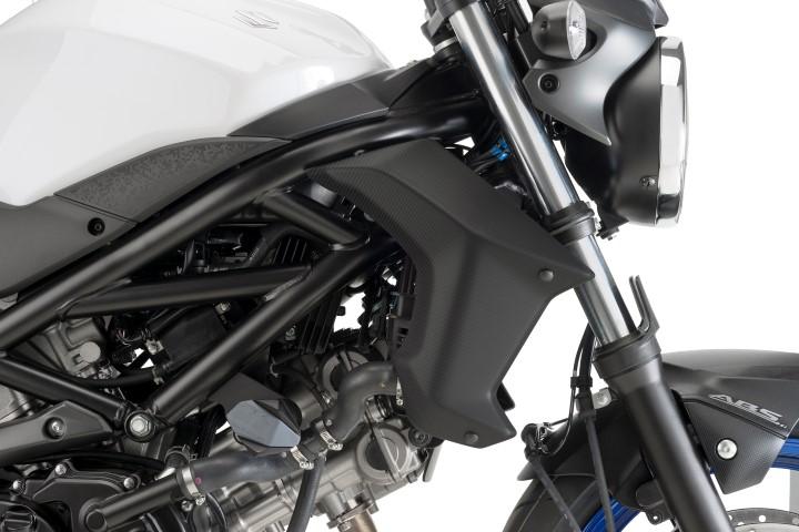 Tapas Radiador Suzuki SV 650 16-19 simil carbono Puig 8564c